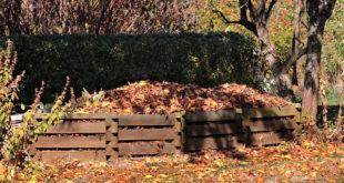 Laub kompostieren